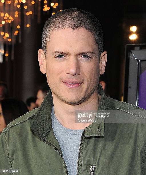 Actor Wentworth Miller attends the screening of Open Road Films' 'The Loft' at Directors Guild Of America on January 27 2015 in Los Angeles California