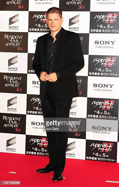 Actor Wentworth Miller attends the World Premiere of 'Resident Evil Afterlife' at Roppongi Hills on September 2 2010 in Tokyo Japan The film opens in...