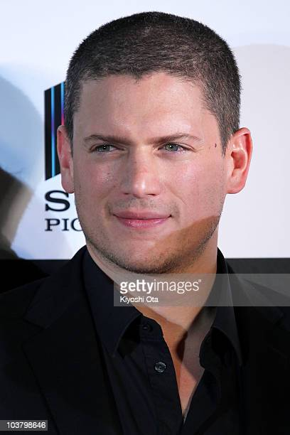 Actor Wentworth Miller attends the World Premiere of 'Resident Evil Afterlife' at Roppongi Hills on September 2 2010 in Tokyo Japan The film will...