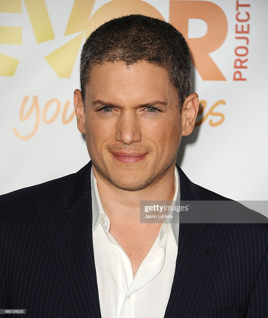 Actor Wentworth Miller attends TrevorLIVE Los Angeles at the Hollywood Palladium on December 7 2014 in Los Angeles California