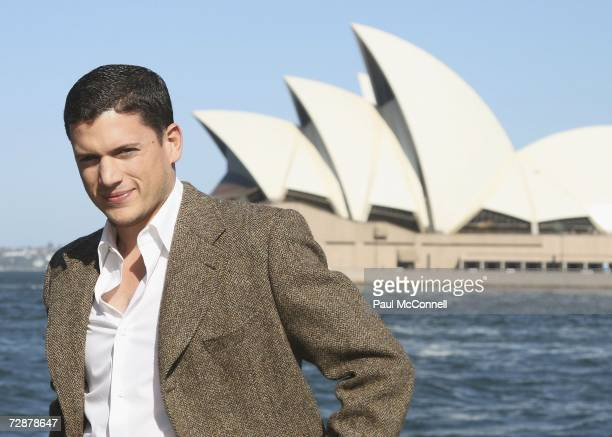 Actor Wentworth Miller is guest of honour at a Harbour Cruise to celebrate Foxtels new television deal with Twentieth Century Fox Television...