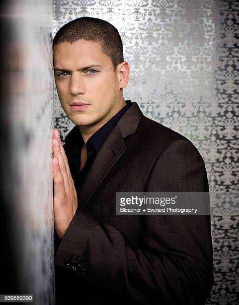 Actor Wentworth Miller is photographed for Prestige Magazine on October 16 2008 in Santa Monica California COVER IMAGE