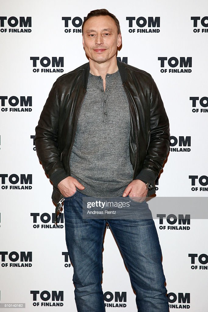 Actor Werner Daehn attends the 'Tom of Finland' press conference during the 66th Berlinale International Film Festival Berlin at Ritz Carlton on February 14, 2016 in Berlin, Germany.