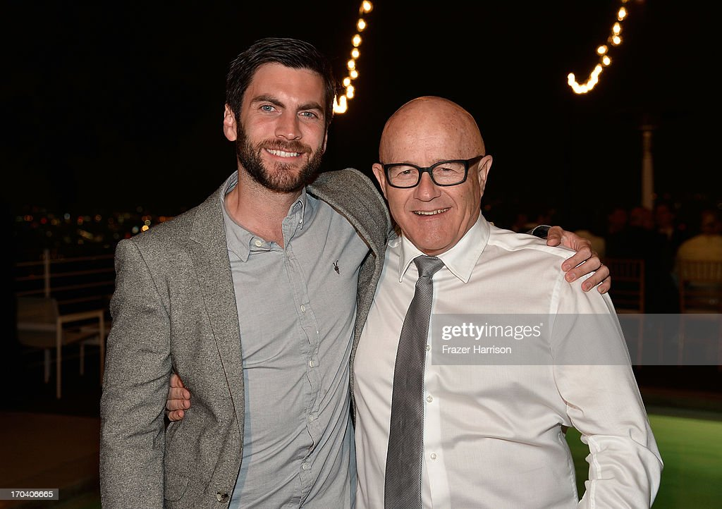 Actor Wes Bentley and Kim Ledger attend the Australians In Film and Heath Ledger Scholarship Host 5th Anniversary Benefit Dinner on June 12, 2013 in Los Angeles, California.