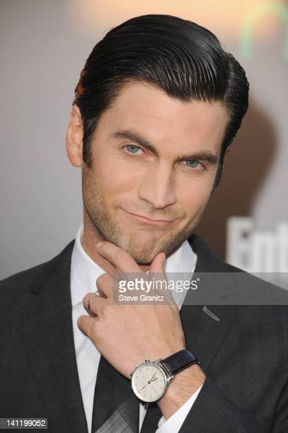 Actor Wes Bentley arrives at 'The Hunger Games' Los Angeles premiere held at Nokia Theatre LA Live on March 12 2012 in Los Angeles United States