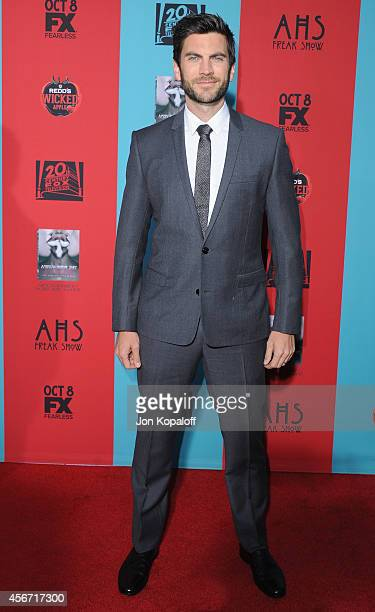 Actor Wes Bentley arrives at the Los Angeles Premiere 'American Horror Story Freak Show' at TCL Chinese Theatre IMAX on October 5 2014 in Hollywood...