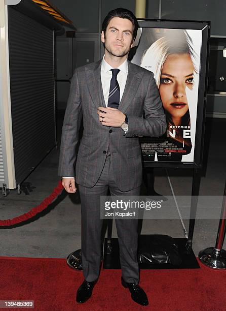 Actor Wes Bentley arrives at the Los Angeles Premiere 'Gone' at ArcLight Hollywood on February 21 2012 in Hollywood California