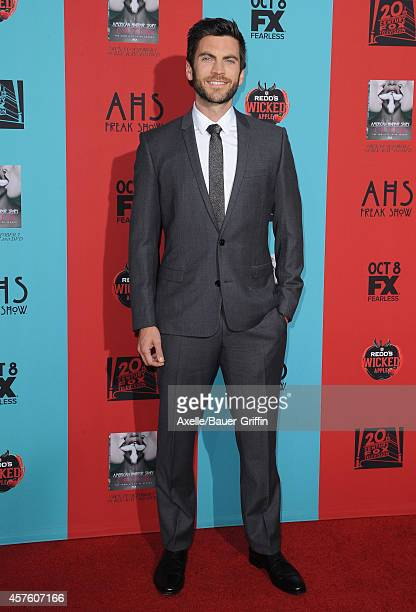 Actor Wes Bentley arrives at the Los Angeles premiere of 'American Horror Story Freak Show' at TCL Chinese Theatre IMAX on October 5 2014 in...