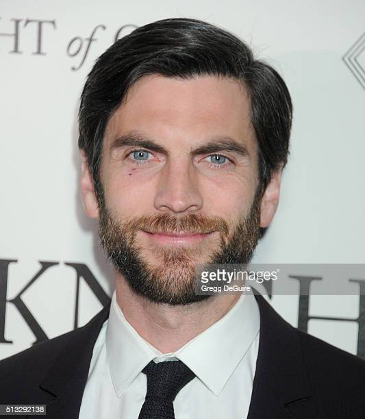 Actor Wes Bentley arrives at the premiere of Broad Green Pictures' 'Knight Of Cups' on March 1 2016 in Los Angeles California
