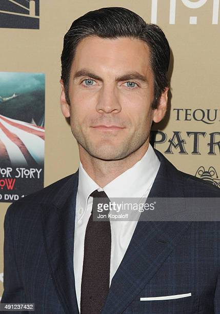Actor Wes Bentley arrives at the Premiere Screening Of FX's 'American Horror Story Hotel' at Regal Cinemas LA Live on October 3 2015 in Los Angeles...