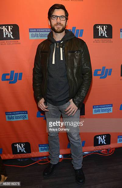 Actor Wes Bentley attends the Kari Feinstein Style Lounge Day 2 on January 18 2014 in Park City Utah