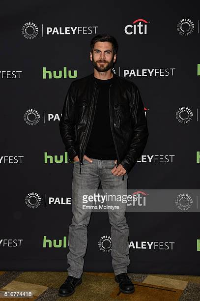 Actor Wes Bentley attends The Paley Center For Media's 33rd Annual PaleyFest Los Angeles Closing Night Presentation 'American Horror Story Hotel' at...