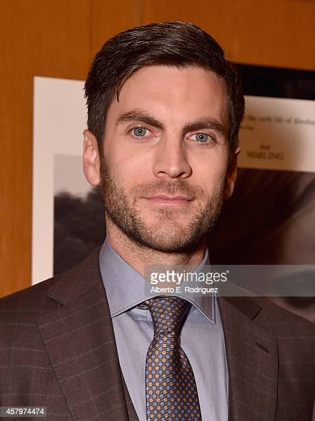 Actor Wes Bentley attends the premiere of Amplify's 'The Better Angels' at DGA Theater on October 27 2014 in Los Angeles California