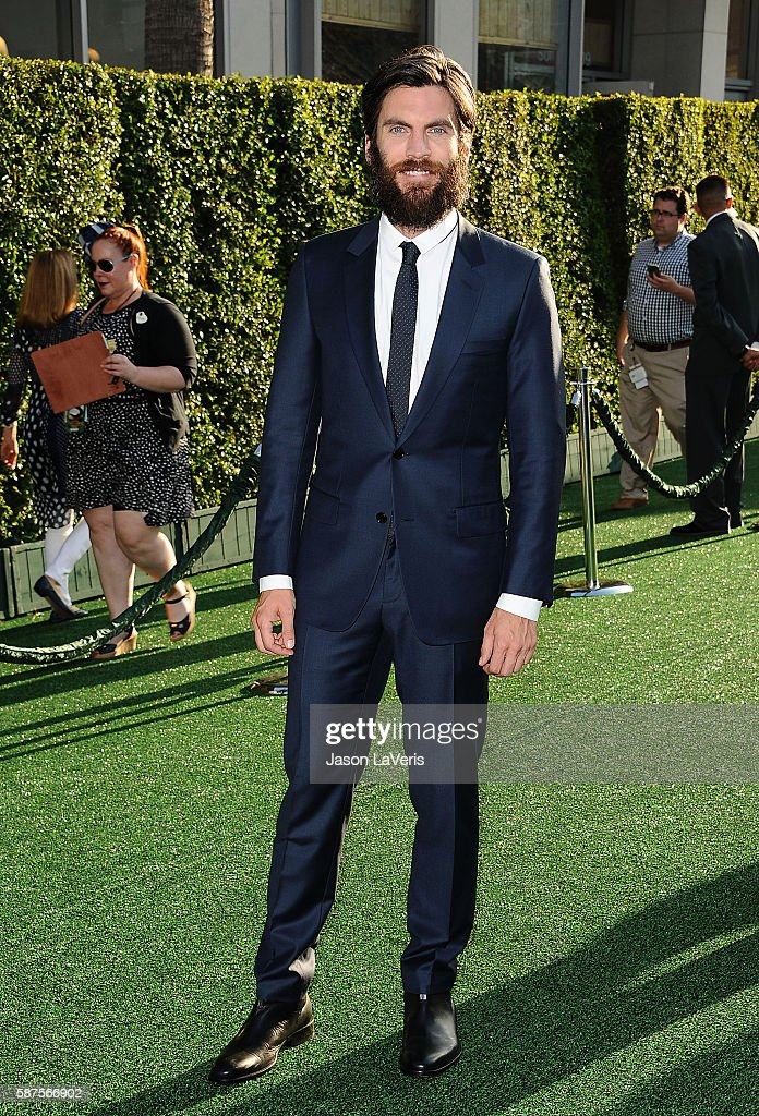 Actor Wes Bentley attends the premiere of 'Pete's Dragon' at the El Capitan Theatre on August 8 2016 in Hollywood California