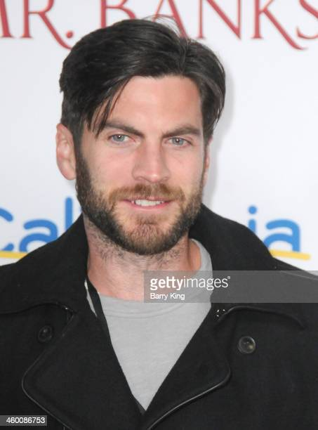 Actor Wes Bentley attends the premiere of 'Saving Mr Banks' on December 9 2013 at Walt Disney Studios in Burbank California