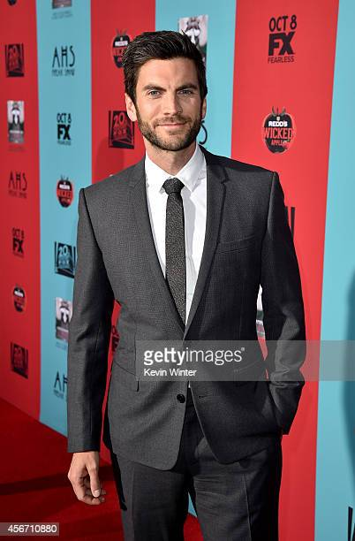 Actor Wes Bentley attends the premiere screening of FX's 'American Horror Story Freak Show' at TCL Chinese Theatre on October 5 2014 in Hollywood...