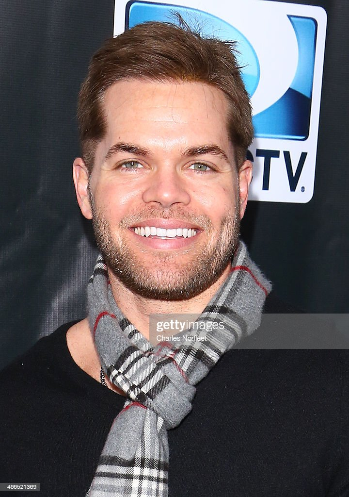 Actor Wes Chatham attends the DirecTV Super Saturday Night at Pier 40 on February 1, 2014 in New York City.