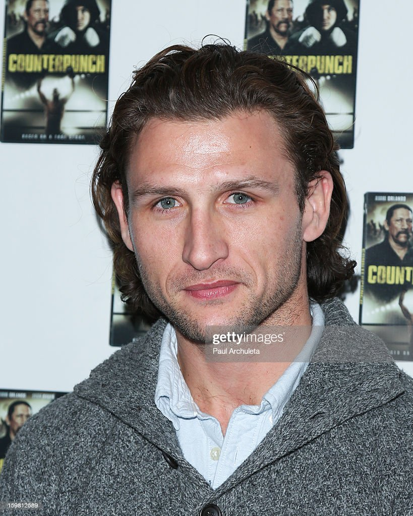 Actor Wes Hager attends the Counterpunch screening at the Downtown Independent Theatre on January 20, 2013 in Los Angeles, California.