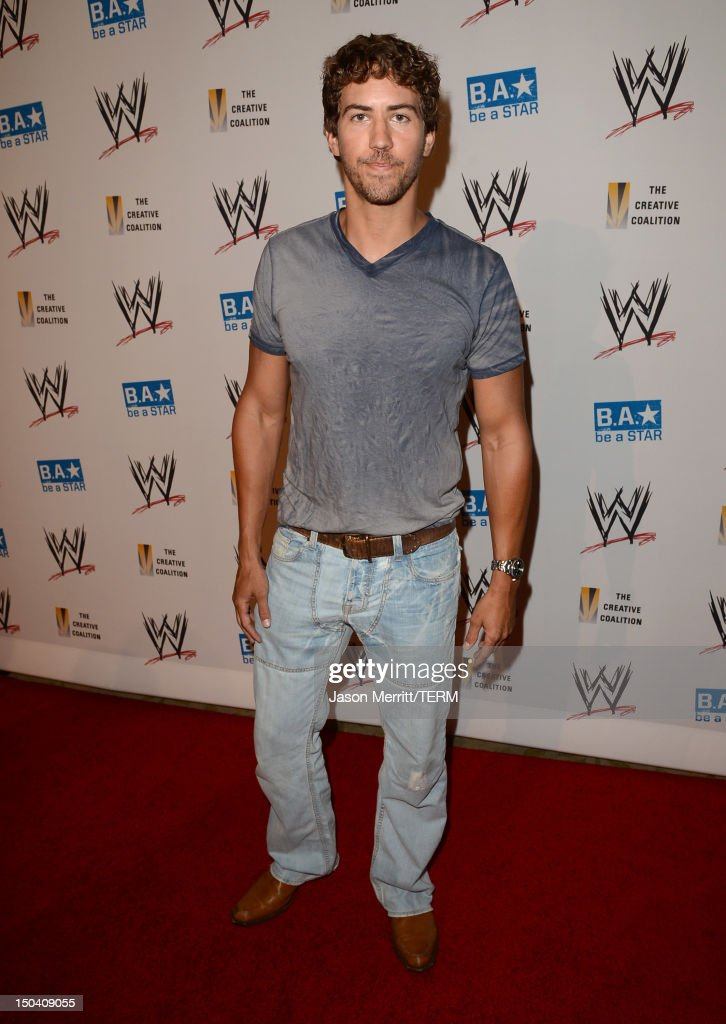 Actor Wes Ramsey attends the WWE SummerSlam VIP Kick-Off Party at Beverly Hills Hotel on August 16, 2012 in Beverly Hills, California.