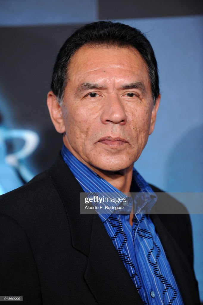 Actor <a gi-track='captionPersonalityLinkClicked' href=/galleries/search?phrase=Wes+Studi+-+Actor&family=editorial&specificpeople=1147913 ng-click='$event.stopPropagation()'>Wes Studi</a> attends the 'Avatar' Los Angeles premiere at Grauman's Chinese Theatre on December 16, 2009 in Hollywood, California.