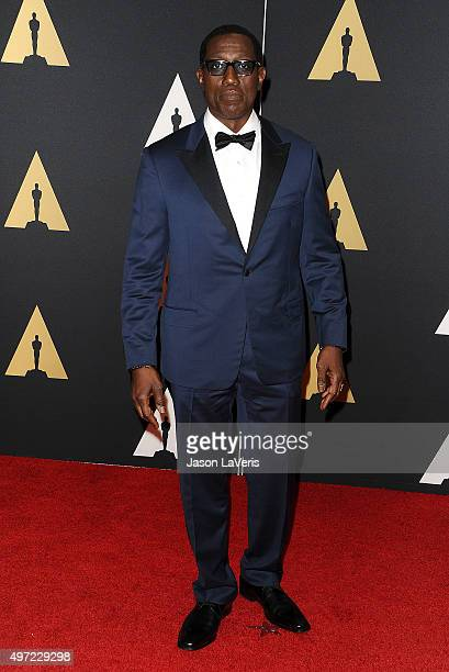Actor Wesley Snipes attends the 7th annual Governors Awards at The Ray Dolby Ballroom at Hollywood Highland Center on November 14 2015 in Hollywood...