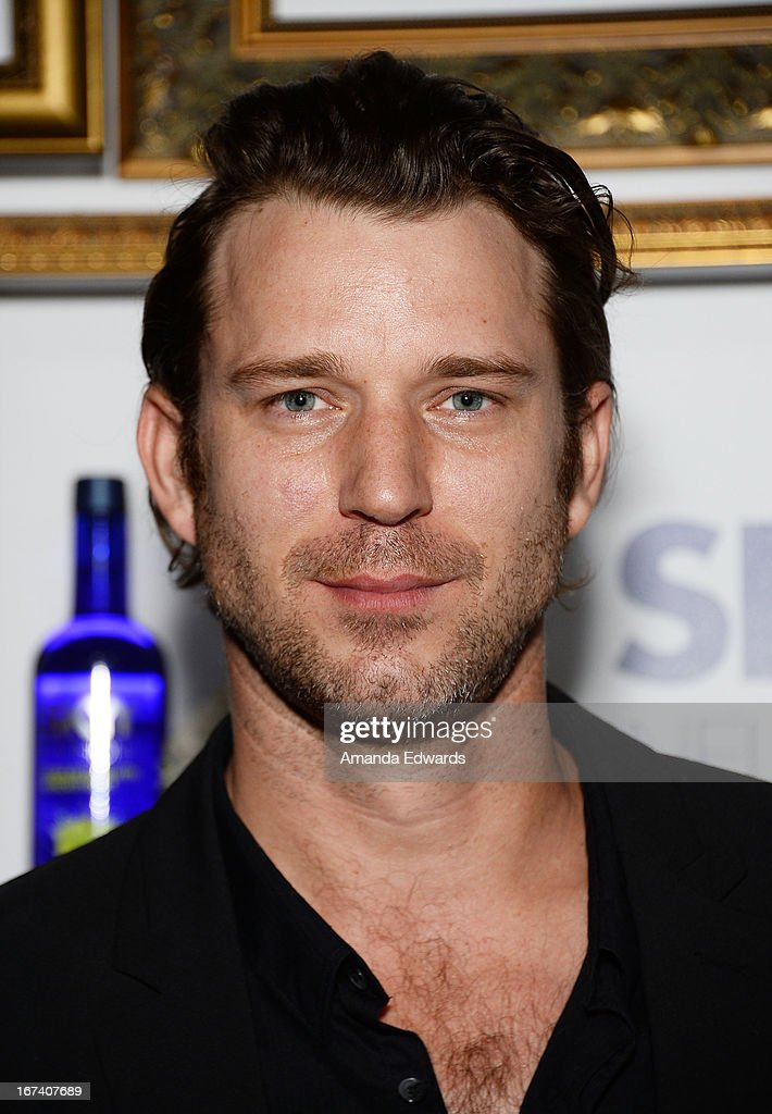 Actor <a gi-track='captionPersonalityLinkClicked' href=/galleries/search?phrase=Wil+Traval&family=editorial&specificpeople=542249 ng-click='$event.stopPropagation()'>Wil Traval</a> arrives at the debut of The House of Moscato launch party for the new SKYY Infusions Moscato Grape Vodka at Greystone Manor Supperclub on April 24, 2013 in West Hollywood, California.
