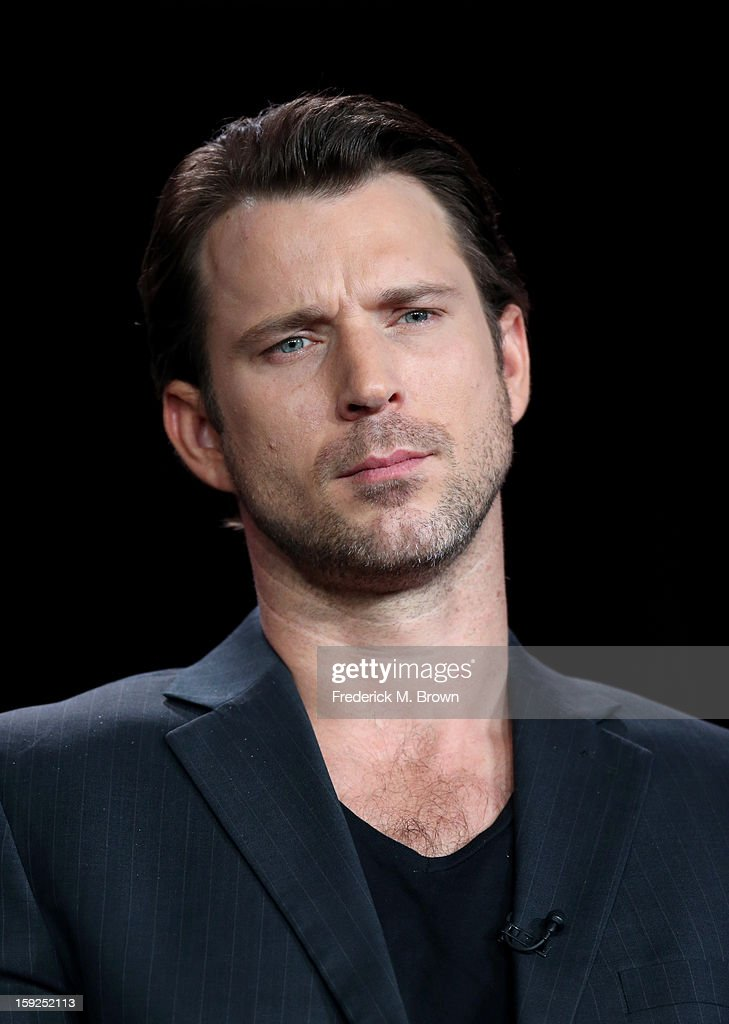 Actor Wil Traval of 'Red Widow' speaks onstage during the ABC portion of the 2013 Winter TCA Tour at Langham Hotel on January 10, 2013 in Pasadena, California.