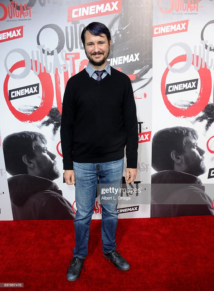 Actor Wil Wheaton arrives for the Premiere Of Cinemax's 'Outcast' held at Hollywood Forever on June 1 2016 in Hollywood California