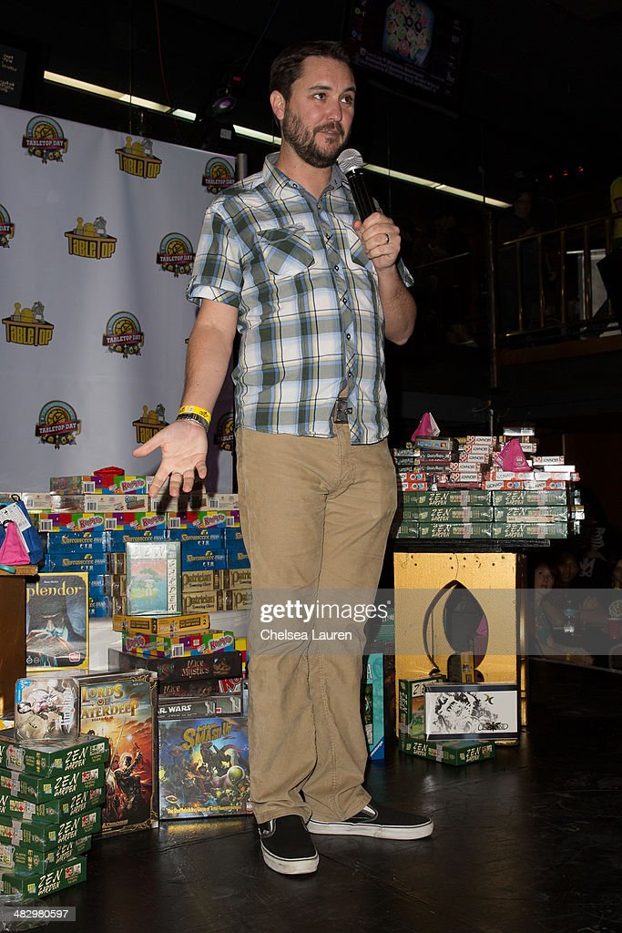 Actor Wil Wheaton attends 2014 international TableTop day at Arena Nightclub on April 5 2014 in Hollywood California