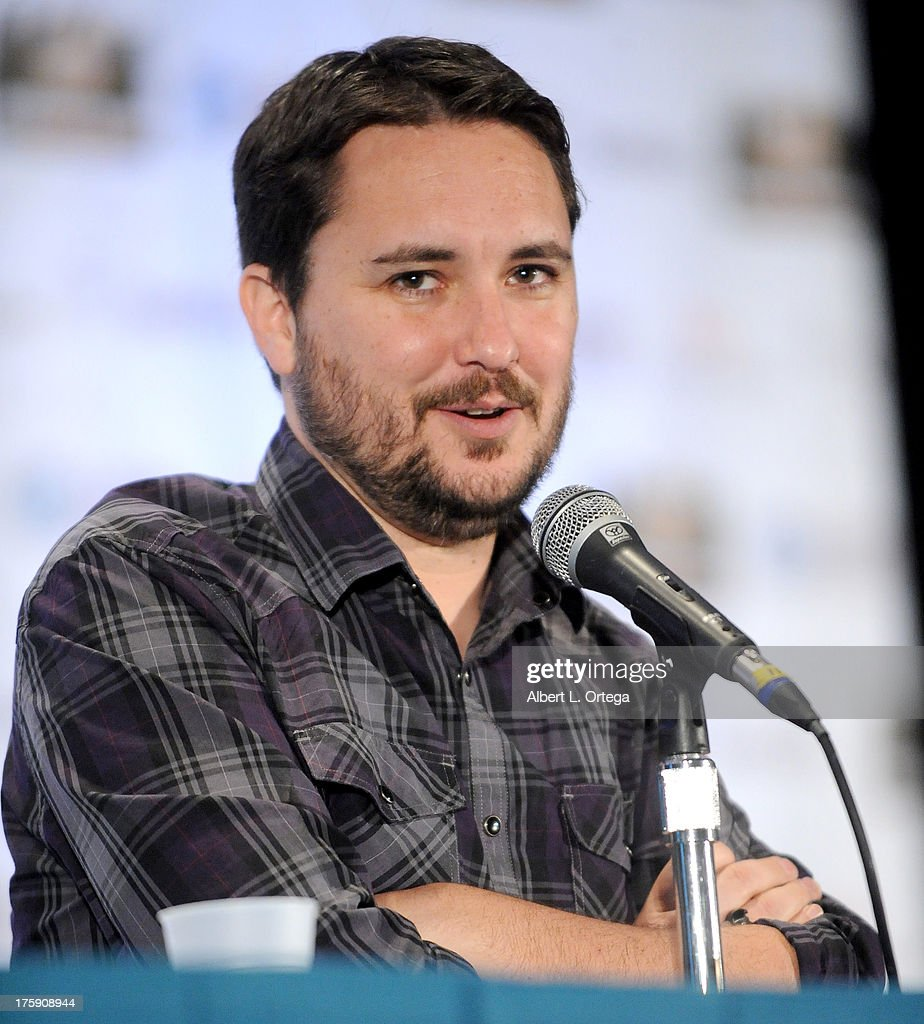 Actor Wil Wheaton attends Day 1 of Wizard World Chicago Comic Con 2013 at the Donald E Stephens Convention Center on August 9 2013 in Rosemont...