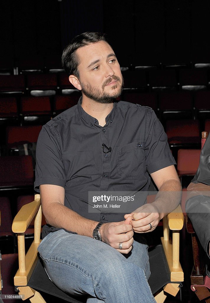 Actor Wil Wheaton attends the 25th Anniversary interview with the director and cast of 'Stand By Me' at the Falcon Theater which coinsides with the...
