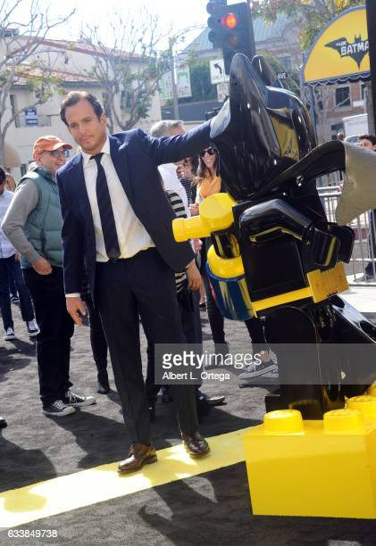 Actor Will Arnett arrives for the Premiere Of Warner Bros Pictures' 'The LEGO Batman Movie' held at Regency Village Theatre on February 4 2017 in...