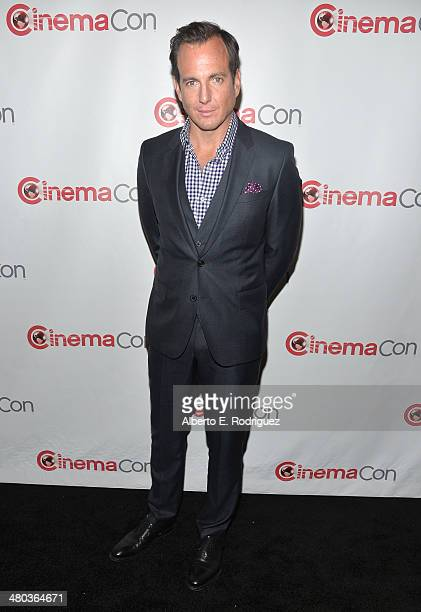 Actor Will Arnett attends CinemaCon 2014 Off and Running Opening Night Studio Presentation from Paramount Pictures at Caesars Palace during CinemaCon...