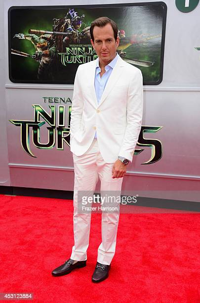 Actor Will Arnett attends Paramount Pictures' 'Teenage Mutant Ninja Turtles' premiere at Regency Village Theatre on August 3 2014 in Westwood...