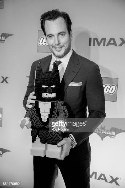 Actor Will Arnett attends 'The Lego Batman Movie' New York Screening at AMC Loews Lincoln Square 13 on February 9 2017 in New York City