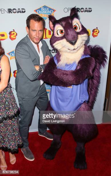 Actor Will Arnett attends the premiere of Open Road Films' 'The Nut Job 2 Nutty by Nature' at Regal Cinemas LA Live on August 5 2017 in Los Angeles...
