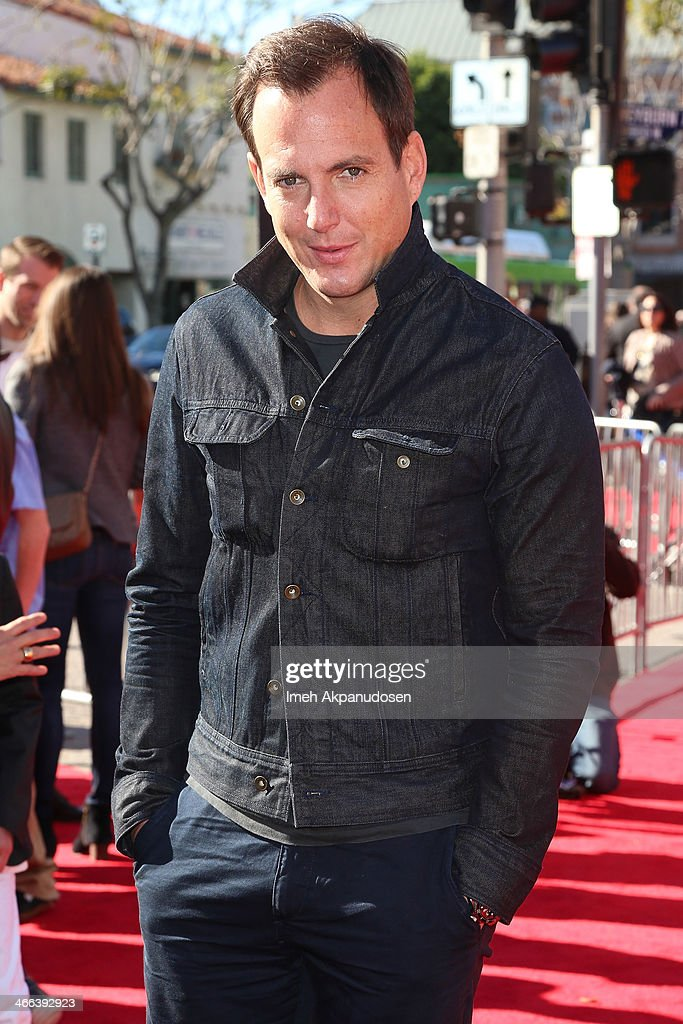 Actor <a gi-track='captionPersonalityLinkClicked' href=/galleries/search?phrase=Will+Arnett&family=editorial&specificpeople=209259 ng-click='$event.stopPropagation()'>Will Arnett</a> attends the premiere of 'The LEGO Movie' at Regency Village Theatre on February 1, 2014 in Westwood, California.