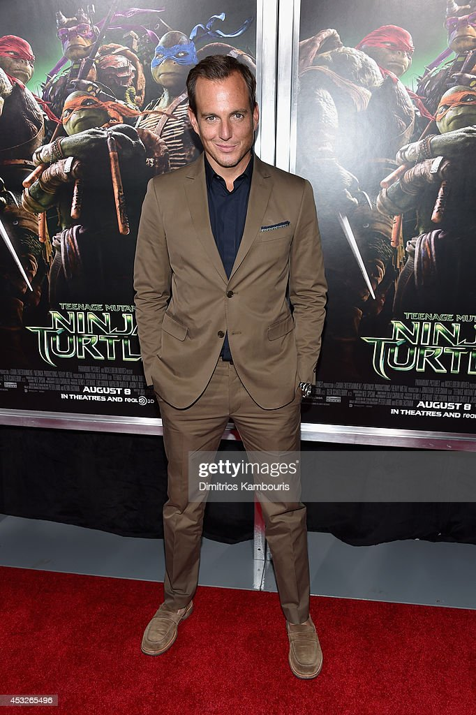 Actor <a gi-track='captionPersonalityLinkClicked' href=/galleries/search?phrase=Will+Arnett&family=editorial&specificpeople=209259 ng-click='$event.stopPropagation()'>Will Arnett</a> attends the 'Teenage Mutant Ninja Turtles' New York premiere at AMC Lincoln Square Theater on August 6, 2014 in New York City.