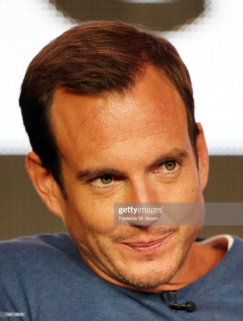 Actor <a gi-track='captionPersonalityLinkClicked' href=/galleries/search?phrase=Will+Arnett&family=editorial&specificpeople=209259 ng-click='$event.stopPropagation()'>Will Arnett</a> of the television show 'Arrested Development' speaks during The Netflix Network portion of the 2013 Winter Television Critics Association Press Tour at the Langham Hotel and Spa on January 9, 2013 in Pasadena, California.