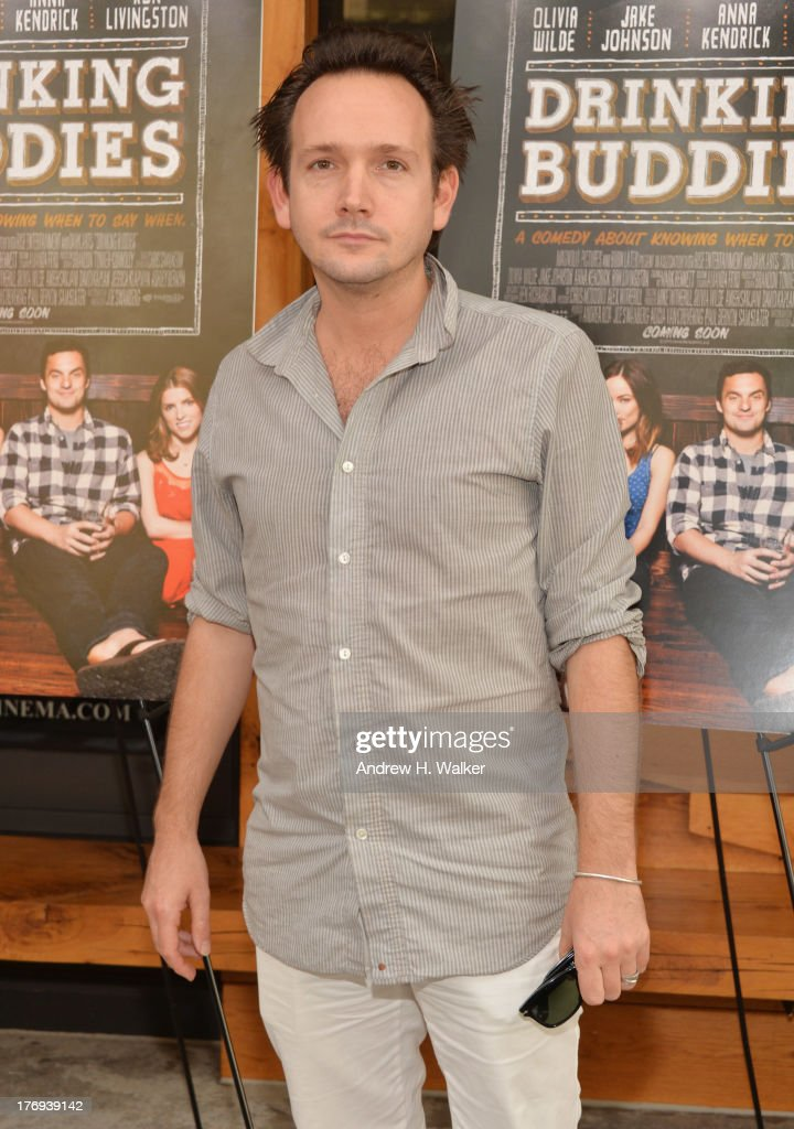 Actor Will Bates attends the 'Drinking Buddies' screening at Nitehawk Cinema on August 19, 2013 in the Brooklyn borough of New York City.