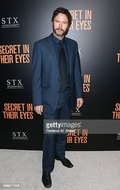 Actor Will Beinbrink attends the Premiere of STX Entertainment's 'Secret In Their Eyes' at the Hammer Museum on November 11 2015 in Westwood...