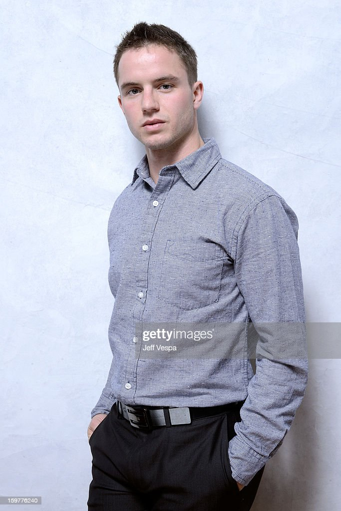 Actor <a gi-track='captionPersonalityLinkClicked' href=/galleries/search?phrase=Will+Brittain&family=editorial&specificpeople=10130575 ng-click='$event.stopPropagation()'>Will Brittain</a> poses for a portrait during the 2013 Sundance Film Festival at the WireImage Portrait Studio at Village At The Lift on January 20, 2013 in Park City, Utah.