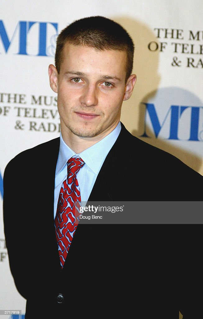 Actor Will Estes before the Museum of Television & Radio's Annual Los Angeles Gala on November 10, 2003 at the Beverly Hills Hotel in Beverly Hills, California.