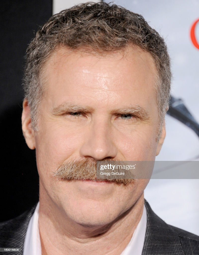 Actor <a gi-track='captionPersonalityLinkClicked' href=/galleries/search?phrase=Will+Ferrell&family=editorial&specificpeople=171995 ng-click='$event.stopPropagation()'>Will Ferrell</a> arrives at the 'Hansel & Gretel: Witch Hunters' Los Angeles premiere at TCL Chinese Theatre on January 24, 2013 in Hollywood, California.