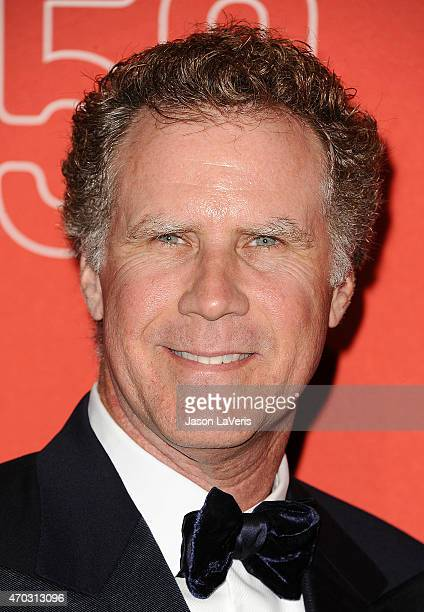 Actor Will Ferrell attends LACMA's 50th anniversary gala at LACMA on April 18 2015 in Los Angeles California