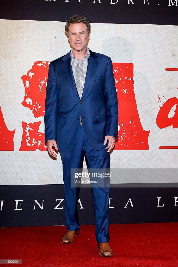 Actor <a gi-track='captionPersonalityLinkClicked' href=/galleries/search?phrase=Will+Ferrell&family=editorial&specificpeople=171995 ng-click='$event.stopPropagation()'>Will Ferrell</a> attends the 'Casa De Mi Padre' Mexico City premiere at the Teatro Metropolitan on April 23, 2012 in Mexico City, Mexico.