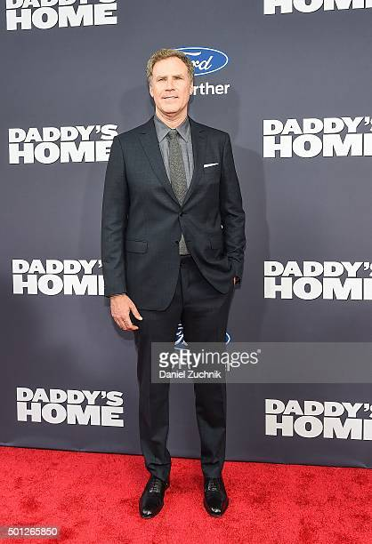 Actor Will Ferrell attends the 'Daddy's Home' New York Premiere at AMC Lincoln Square Theater on December 13 2015 in New York City