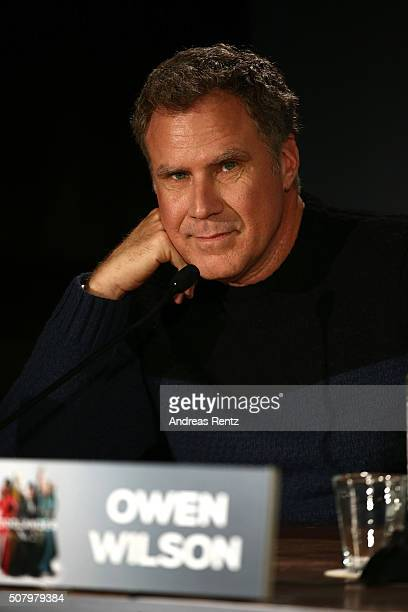 Actor Will Ferrell attends the photo call for the fan screening of the Paramount Pictures film 'Zoolander No 2' at Soho House on February 2 2016 in...