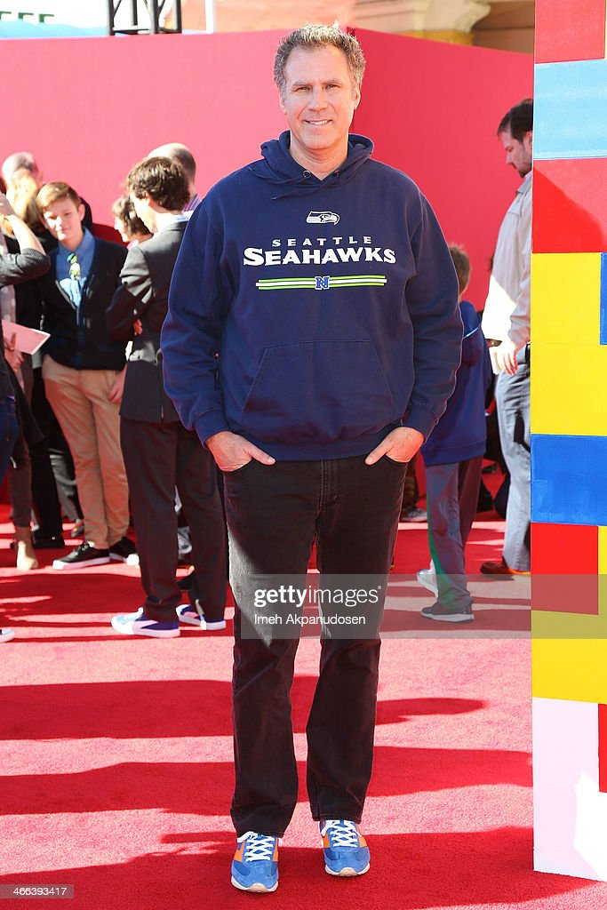 Actor <a gi-track='captionPersonalityLinkClicked' href=/galleries/search?phrase=Will+Ferrell&family=editorial&specificpeople=171995 ng-click='$event.stopPropagation()'>Will Ferrell</a> attends the premiere of 'The LEGO Movie' at Regency Village Theatre on February 1, 2014 in Westwood, California.