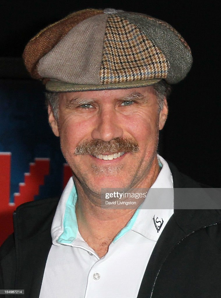 Actor <a gi-track='captionPersonalityLinkClicked' href=/galleries/search?phrase=Will+Ferrell&family=editorial&specificpeople=171995 ng-click='$event.stopPropagation()'>Will Ferrell</a> attends the premiere of Walt Disney Animation Studios' 'Wreck-It Ralph' at the El Capitan Theatre on October 29, 2012 in Hollywood, California.